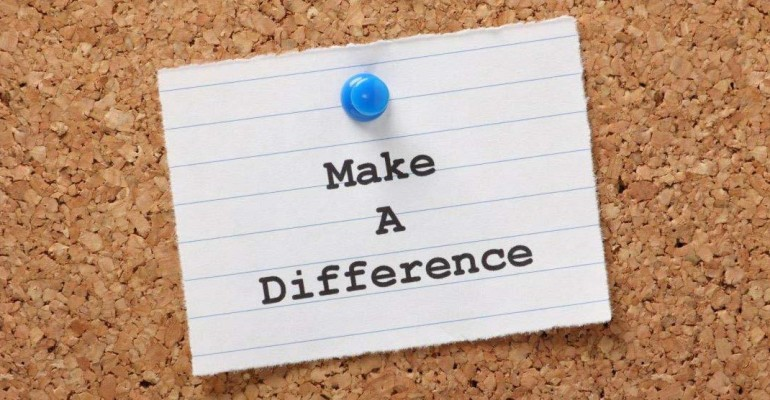 make a difference banner